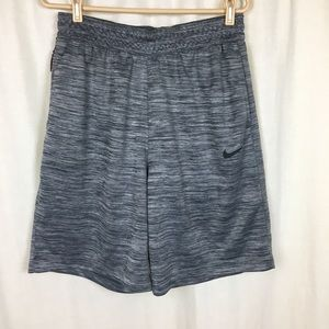 Nike Men's Large Athletic Shorts Dri-Fit Gray